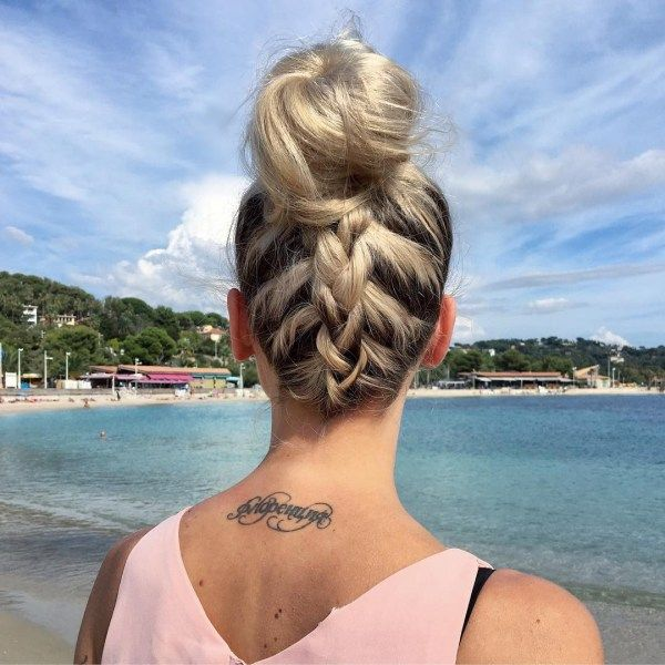 Cute braided updos for long hair 2