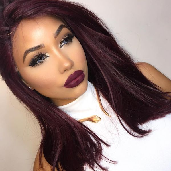 Burgundy Hair Color Ideas Best Hairstyles For Maroon Hair January