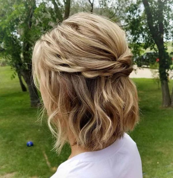 Easy Modern Updos For Shoulder Length Hair 2