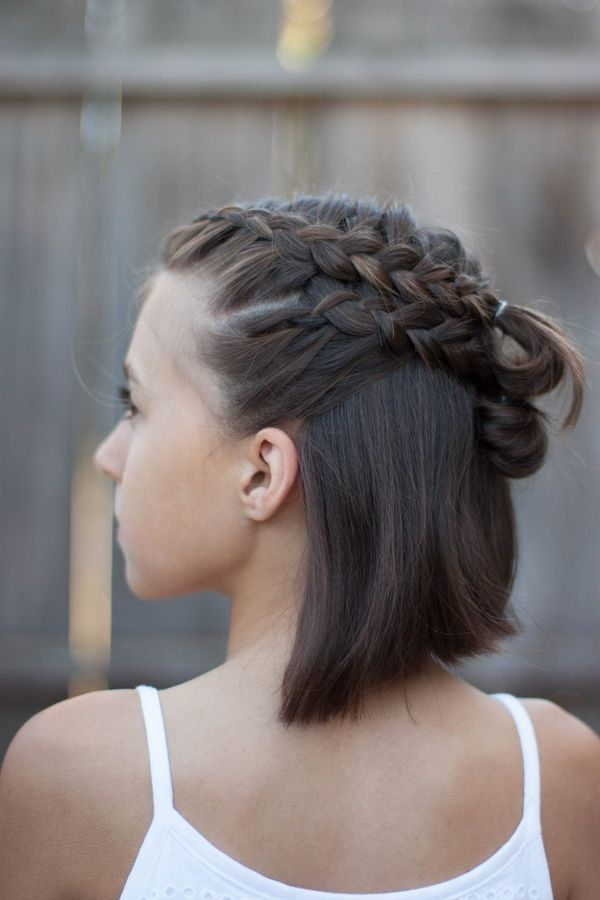 60 Easy Updos For Medium Length Hair January 2019