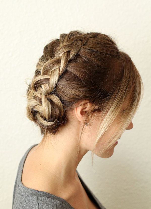 Easy To Style Casual Updos For Mid Length Hair 4