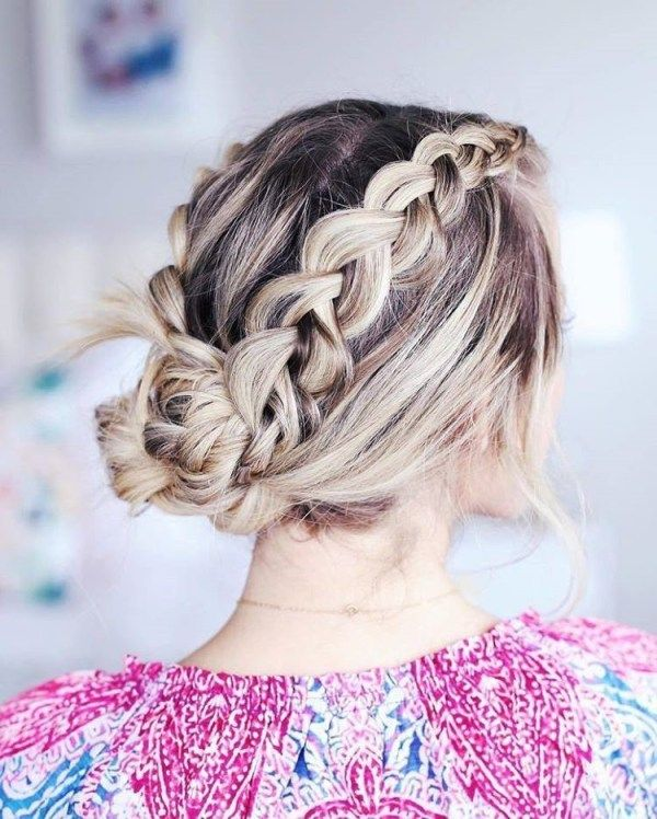 Easy braids for long hair to do yourself 1