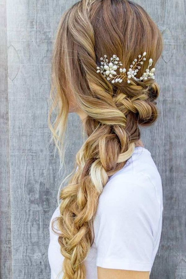 Elegant long braid styles 4