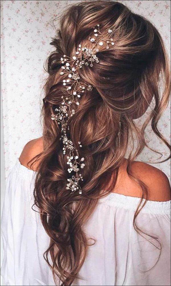 Fancy loose curly updos for prom 3
