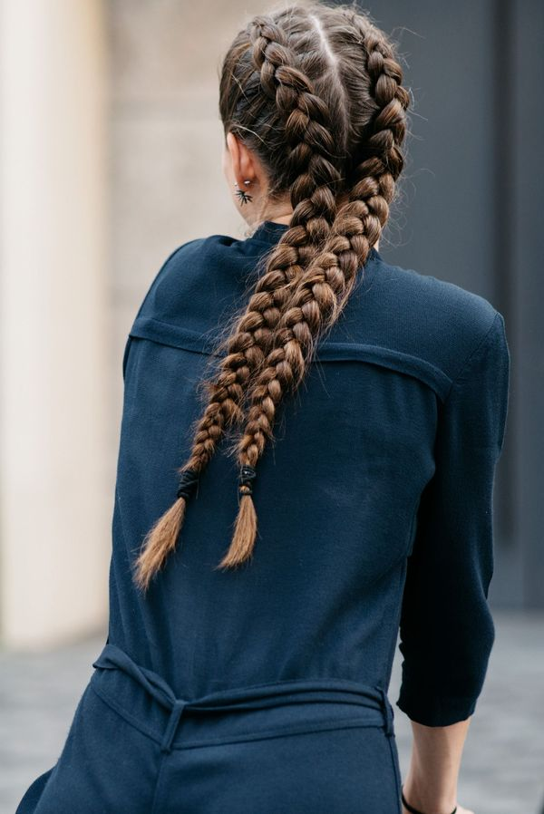 French braid ideas for really long hair 4