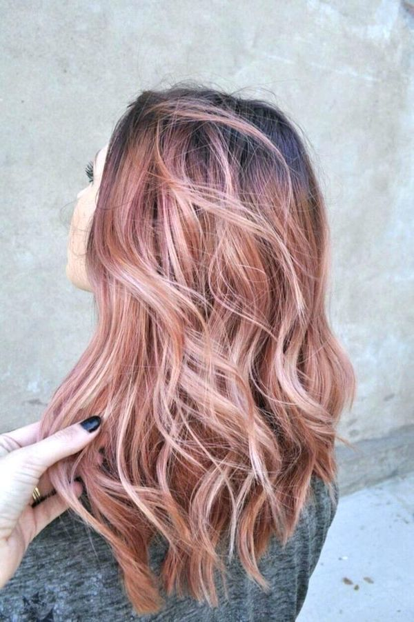 Light Burgundy Hair 1