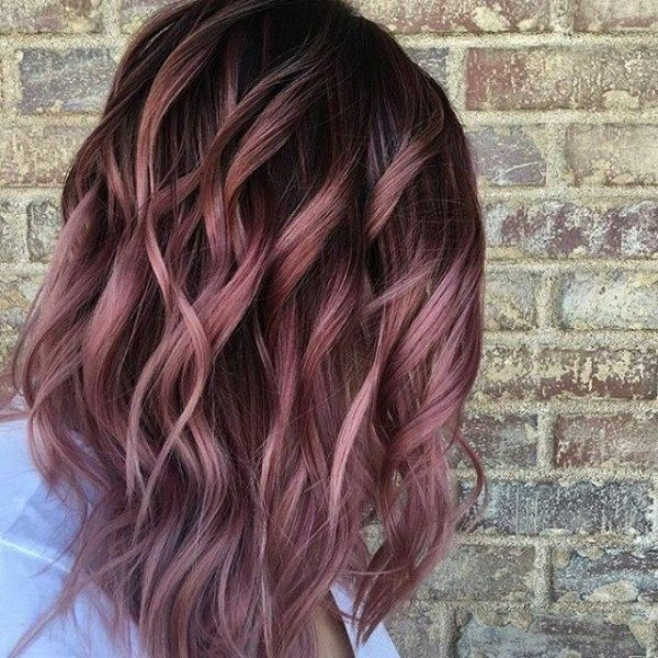 Light Burgundy Hair 4