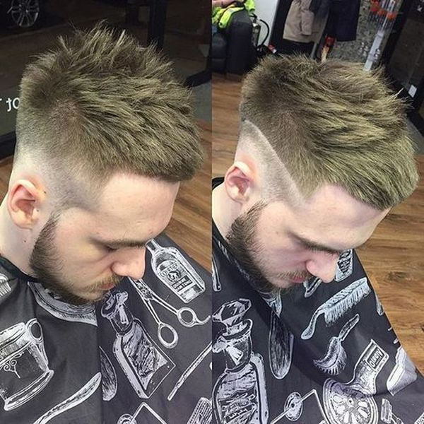 Medium length haircuts for men with thick hair 1
