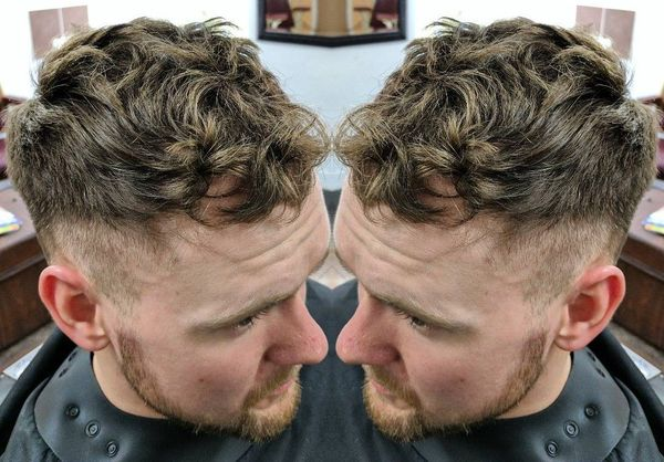 Mens Messy Hairstyles For Wavy Hair 3