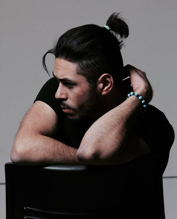 Mens Top Knots On Short Hair 1