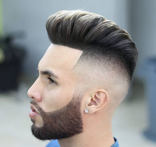 Pompadour Fade Haircut Variations for Guys 4