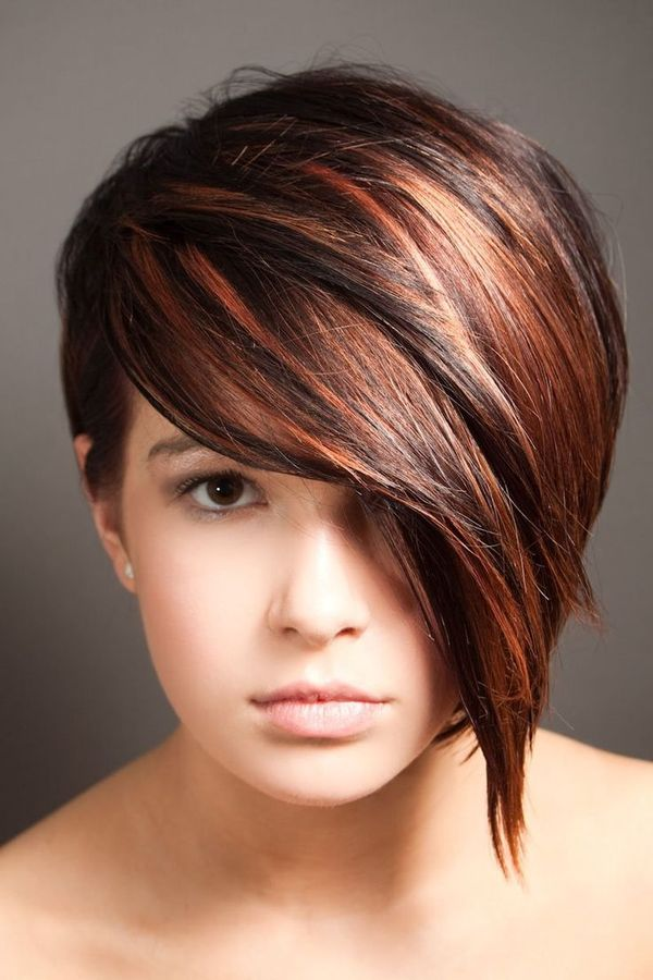 Popular Fall Hair Colors for Short Hair 1