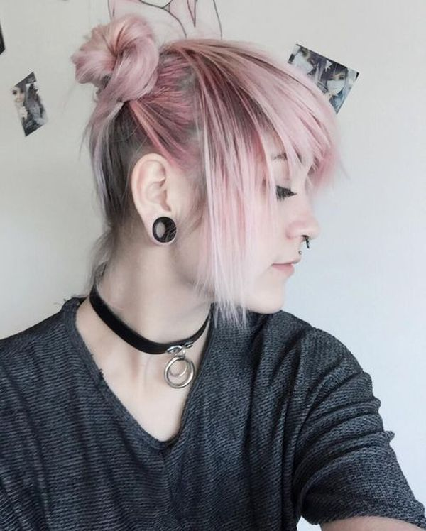 Popular emo hair colors for emo teen girls 1