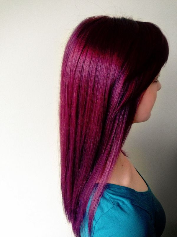 Red Violet Hair Color You Will Love 3