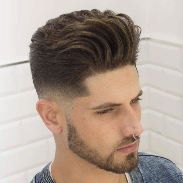 Short Blowout Haircut Ideas for Men 3