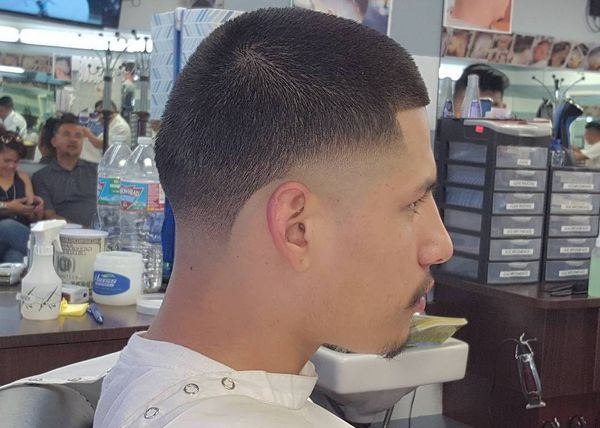 Short taper fade styles for guys 3