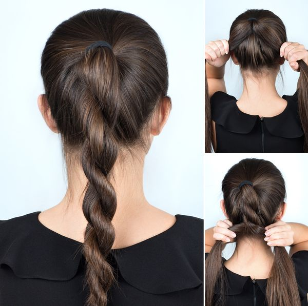 Shoulder Length Hairstyle Updos For Women 4