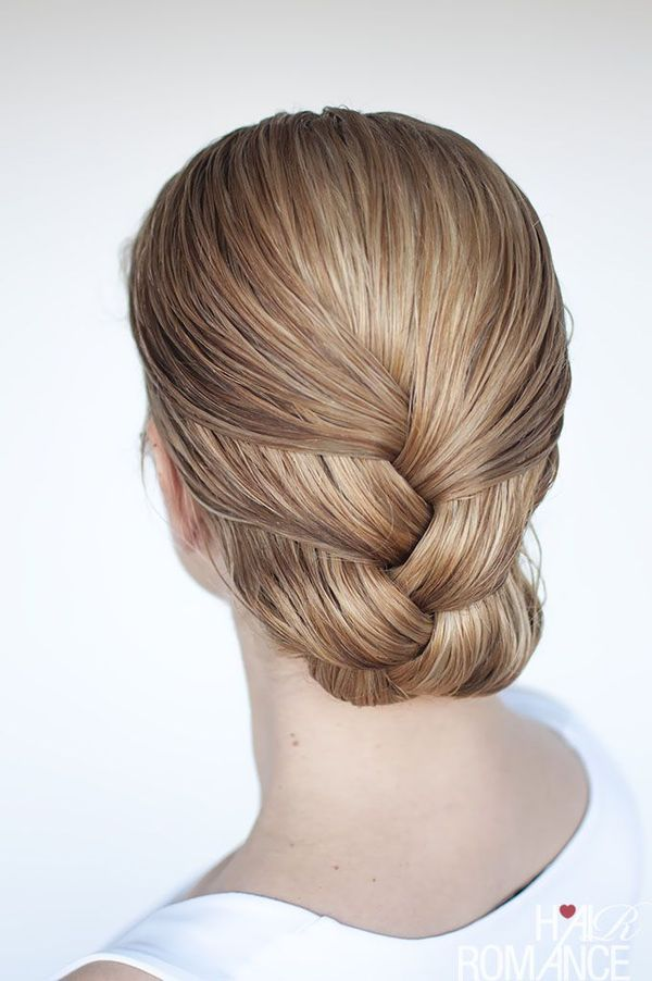 60 Easy Updos For Medium Length Hair July 2019