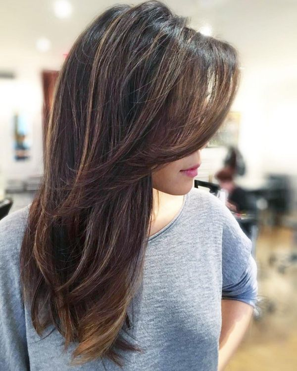 Long Layered Hairstyles 2019: 70 Long Layered Bob Hairstyle Ideas (January 2020
