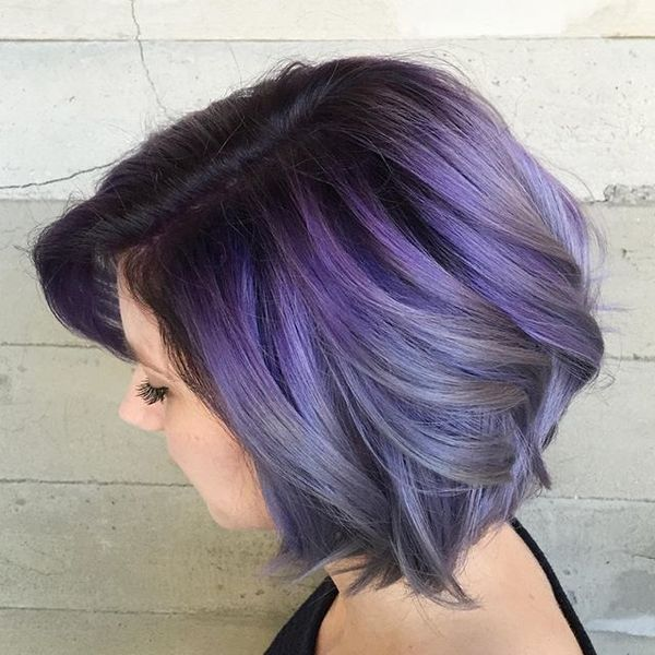 Stylish Short Colorful Hairstyles 4