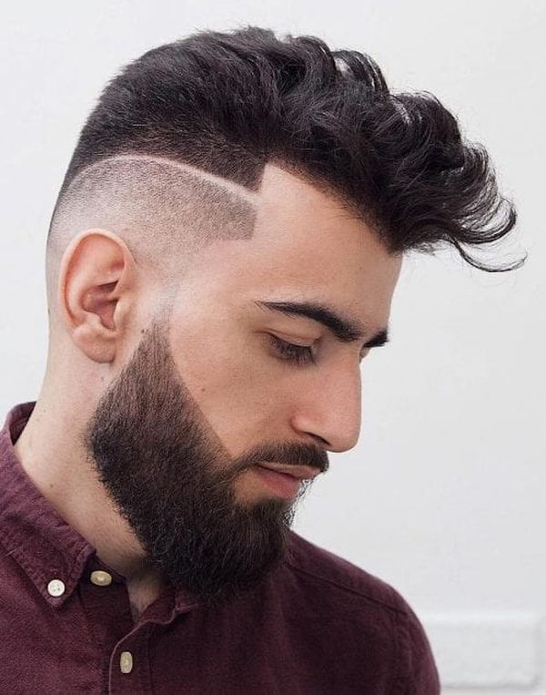 Line Up Haircut 48 Cool Fade Line Haircuts October 2019