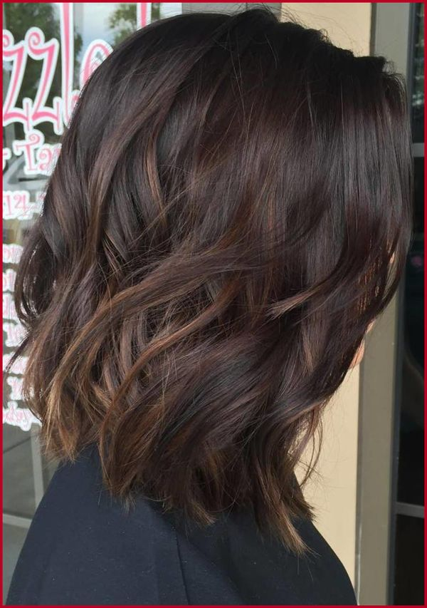 Subtle highlights for dark brown hair 1
