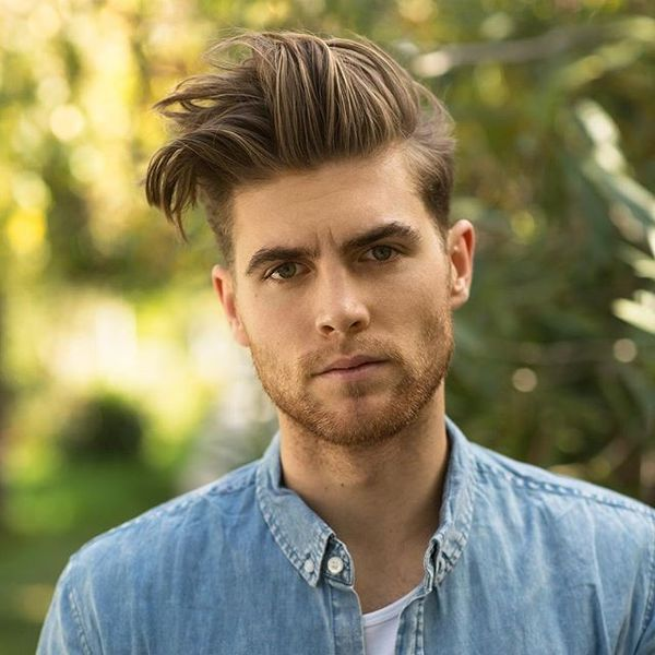 Blowout Haircut For Guys 35 Mens Blowout Fade Ideas March 2019