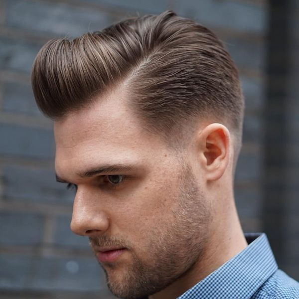 Timeless Slick Back Pompadour 1