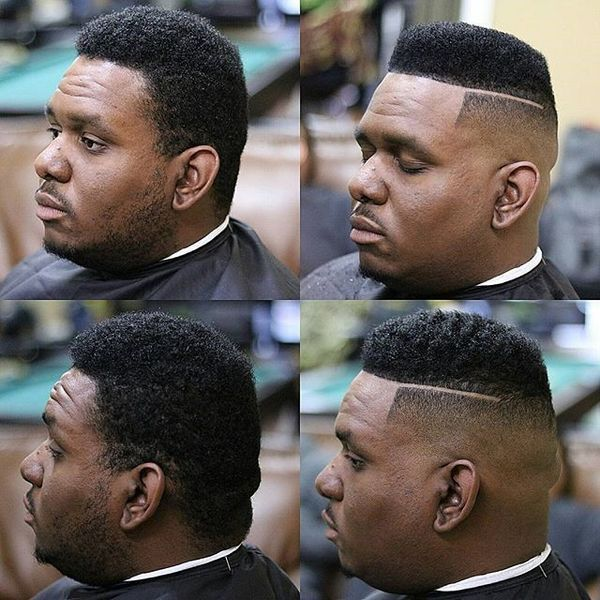 Top male haircuts with hard part 2