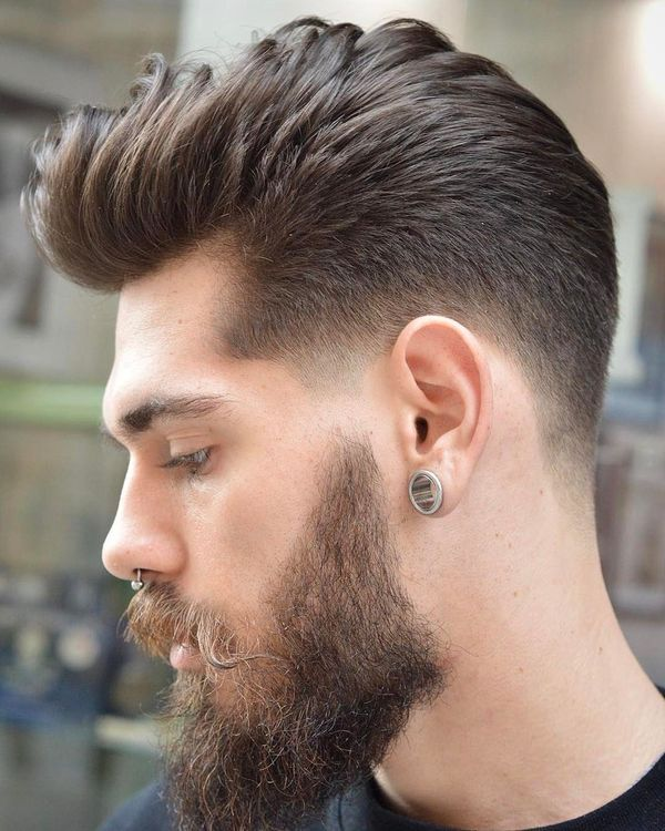 Trendy Blowout Fade Hairstyles 1