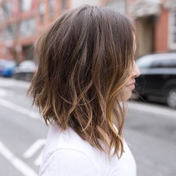 Medium Length Hairstyles For Thin Hair (Trending in October ...