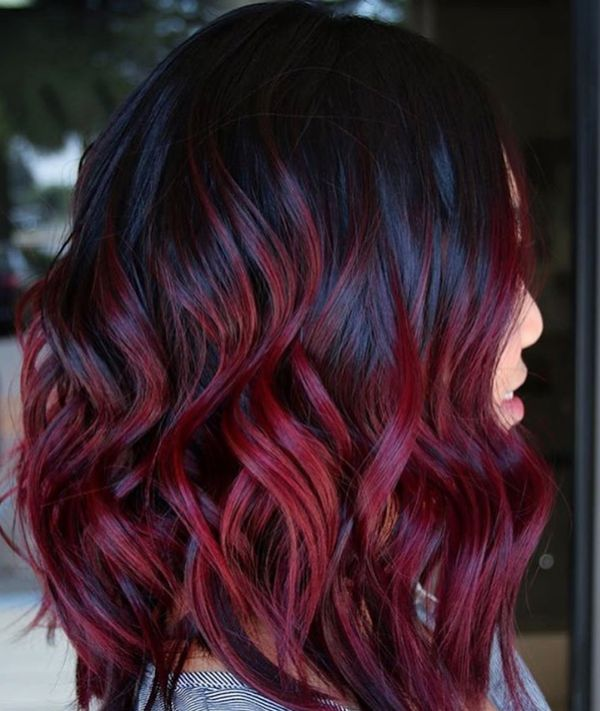 Wine olored Hair 1