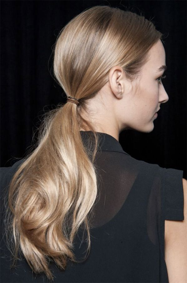Casual hairstyles for naturally straight hair 2