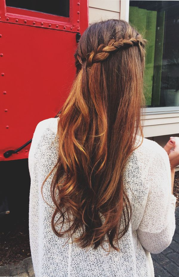 Cute long straight hair styles for girls 3
