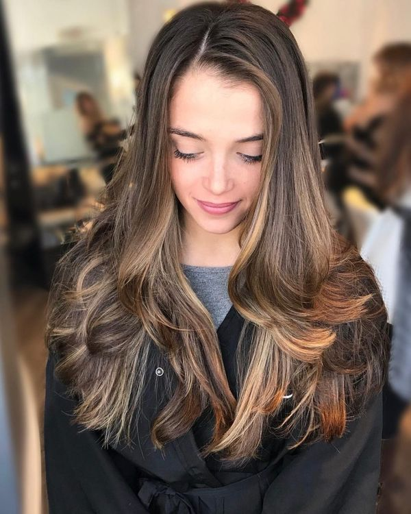 Cute long straight hair styles for girls 5