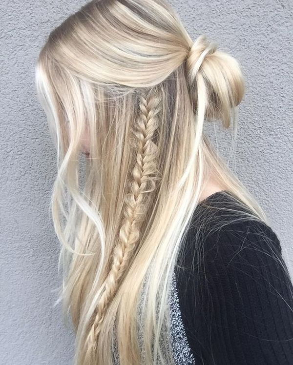 Quick and easy hairstyles for long straight hair 4