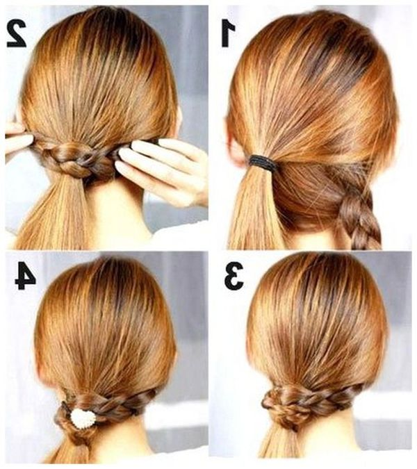 Quick and easy hairstyles for long straight hair 7