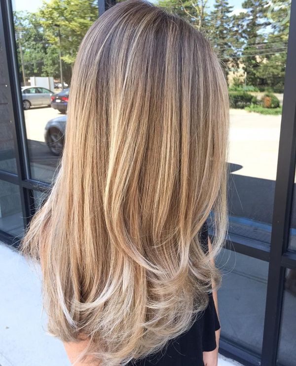 Trendy long straight hairstyles with layers 3