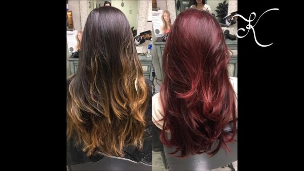 Amazing Haircuts For Light Brown Hair With Red Tips 1