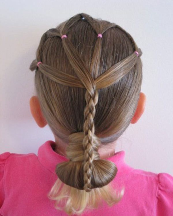 Cute Hairstyles with Braids for Kids 1