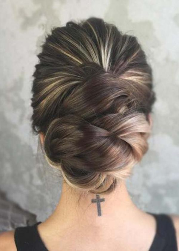 The Best Low Updo for Long Hair 2