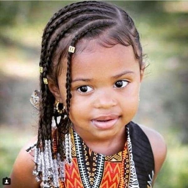 he Cutest Braiding Styles for Toddlers 1