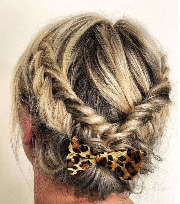 The Best Low Updo for Long Hair 5