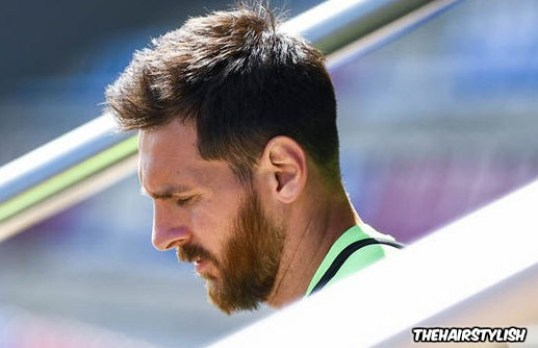 Casual Short Haircut By Lionel Messi
