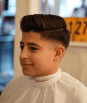 drop fade haircuts with classic