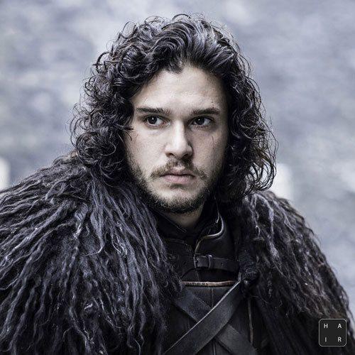 Jon-Snow-Hair-Long-Hair-with-Curls-and-Facial-Hair