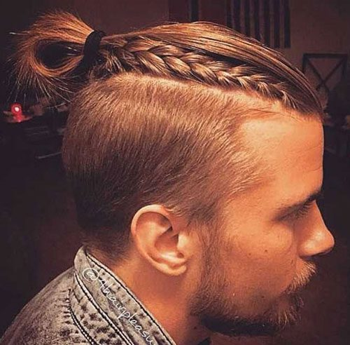 Man Braid + Top Knot