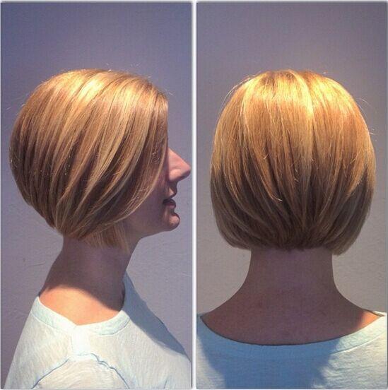 Layered-Bob-Hairstyle-for-Short-Hair-Short-Layered-Bob