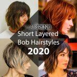 Short Layered Bob Hairstyles