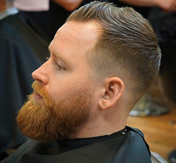 Cool Beard Styles-full beard styles-high beard styles-Red Beard